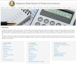 Alabama State Board of Public Accountancy | EZ-cpe.com
