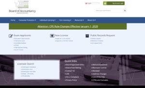 Washington State Board of Accountancy