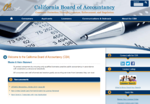 California Board of Accountancy | EZ-cpe.com