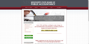 Mississippi State Board of Public Accountancy