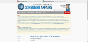 New Jersey State Board of Accountancy