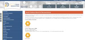South Dakota Board of Accountancy